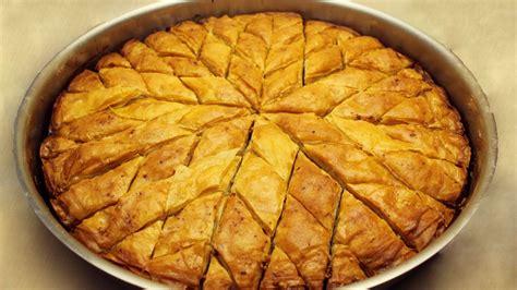 baklava rezept tuerkisches baklava mit walnuessen selber