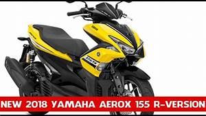 New 2018 Yamaha Aerox 155 R