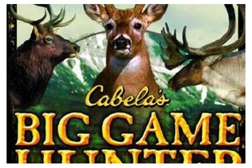 cabela's big game hunter 2006 crack download