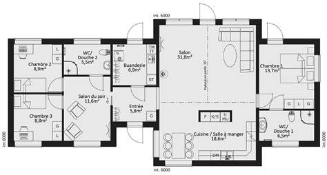 plan maison rdc 3 chambres plan maison rdc 3 chambres hd wallpapers plan maison rdc