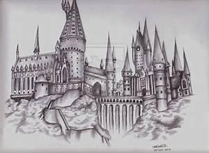 hogwarts castle | Hogwarts Castle by *LilMissLeah on ...