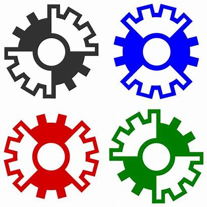 Wheel Clipart Symmetry Clutch Gear Icons Computer