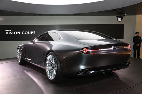 new vision 2 images the mazda vision coupe concept is one gorgeous sedan