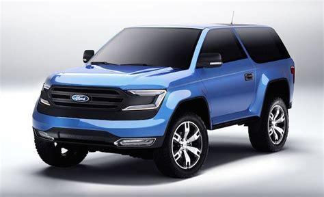 2017 Ford Bronco Is Coming! Rumors, Engine (diesel