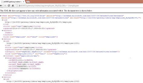 Smp Integration Gateway With Mysql Datasource Part