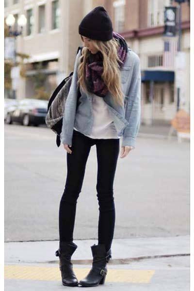 15 Pins zu Jeanshemd Outfits, die man gesehen haben muss