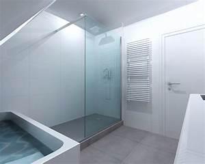 Implantation Salle De Bain : r novation salle de bain grise rennes pac bains et ~ Dailycaller-alerts.com Idées de Décoration