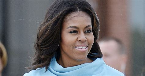 Michelle, Malia & Sasha Obama Look Picture Perfect For