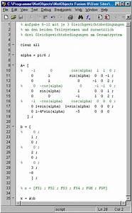 Matrix Rechnung : aufgabe 6 12 matlab ~ Themetempest.com Abrechnung