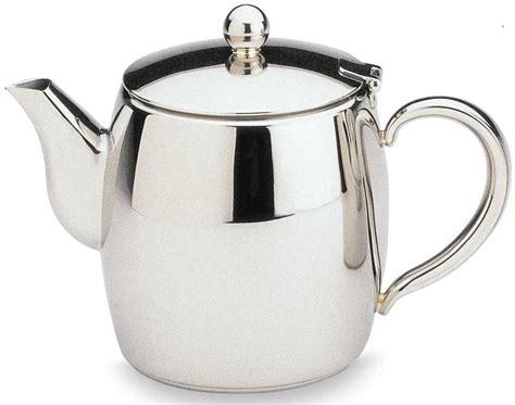 Bellux Stainless Steel Tea Pot Mirror Finished   1L