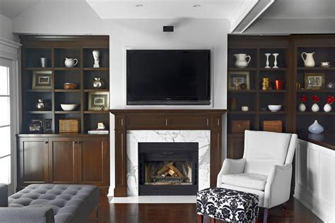contemporary built in cabinets modern fireplace mantels family room traditional with