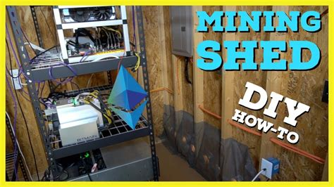 How To Build Cryptocurrency Mining Shed | What I learned ...