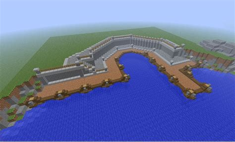 Minecraft Boat Town by Minecraft Medieval Small Town Port Tutorial How To Build
