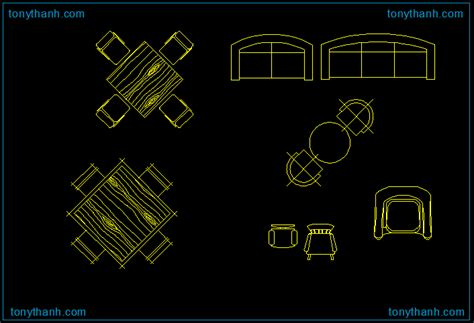 table dwg block autocad drawing table sles free