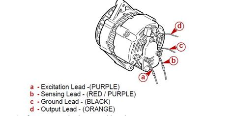 Mercruiser 5 7 Alternator Wiring Diagram by I Just Replaced My Alternator On A Mercruiser 5 7 L And It