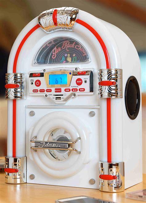 jukebox steepletone jive rock sixty mini jukebox