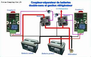 Coupleur Separateur Batterie Camping Car : faites votre coupleur s parateur vous m me ~ Medecine-chirurgie-esthetiques.com Avis de Voitures