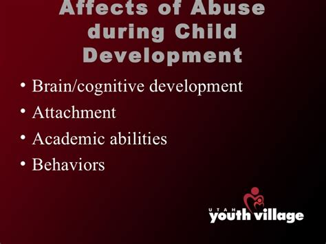 child abuse affects development   recognize abuse
