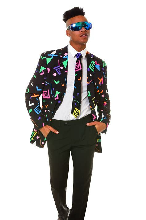 90s Print Neon Blazer | The 90s Neon Birthday Blazer