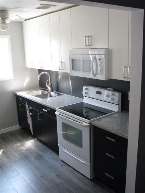 Kitchen Reno, Ikea Applad and Gnosjo cabinets with Salt