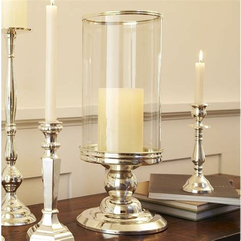 silver hurricane candle holders silver plated hurricane traditional candle holders and