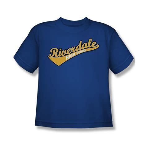 Archie <b>Shirt</b> Kids <b>Riverdale</b> High School Royal Blue T-<b>Shirt</b> - Archie <b>Riverdale</b> High School <b>Shirts</b>