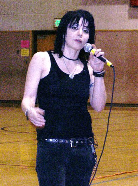 joan jett rocks scriber lake high school  edmonds news