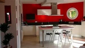 cuisine cuisine beige brillant cuisine beige cuisine With charming couleur pour salon moderne 7 cuisine rouge bordeaux but