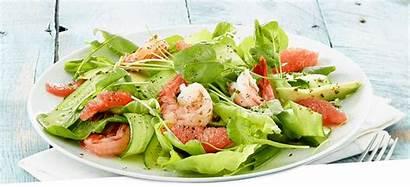 Salad Citrus Shrimp Shimp Naked Leaf Combination