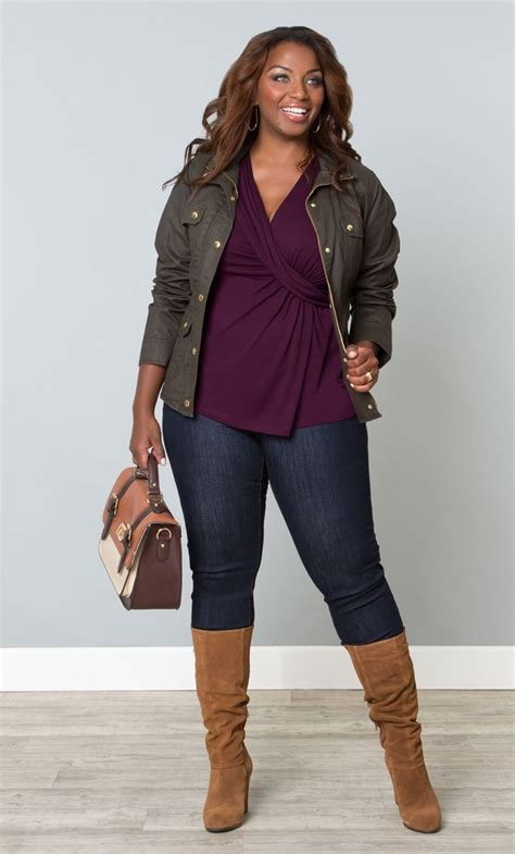 10 Best Plus Size Winter Looks Images On Layer It On This Fall Slim Or Plus Size Great Look Plus