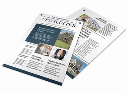 Newsletter Template Estate Modern Templates Newsletters Mycreativeshop