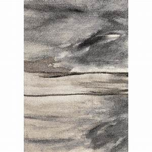 Tapis D Intérieur : tapis contemporain d 39 int rieur gris edmond ~ Melissatoandfro.com Idées de Décoration
