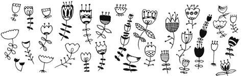 Muster Blumenranke Einfach by Aus Einer Tulpenform Weitere 30 Einfache Blumen Zeichnen
