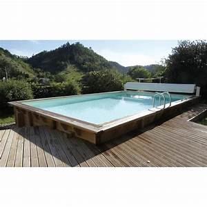Liner Piscine Octogonale : ubbink piscine octogonale en bois lin a 350x650xh140 cm ~ Melissatoandfro.com Idées de Décoration