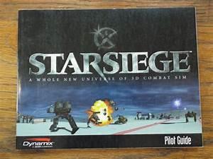 Starsiege Pilot Guide Instruction Manual 3d Combat Sim