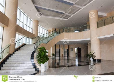 modern hotel lobby stock photo image