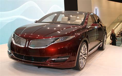 Lincoln Mkz Concept Front End Jpg