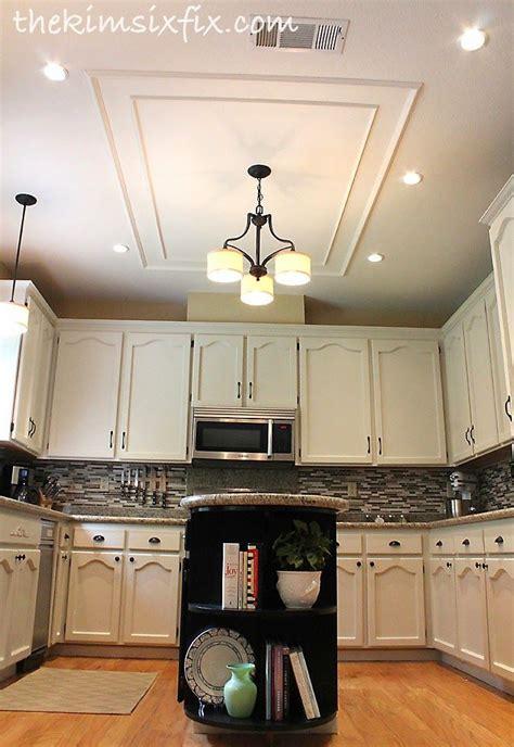 Kitchen Lights by Removing A Large Fluorescent Kitchen Box Light Flashback