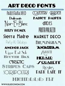 deco font on deco typography deco