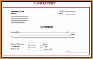 Free Expense Sheet Template 8 Receipt Expense Report