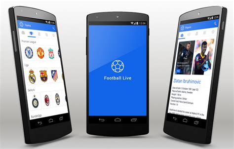 football  android app template
