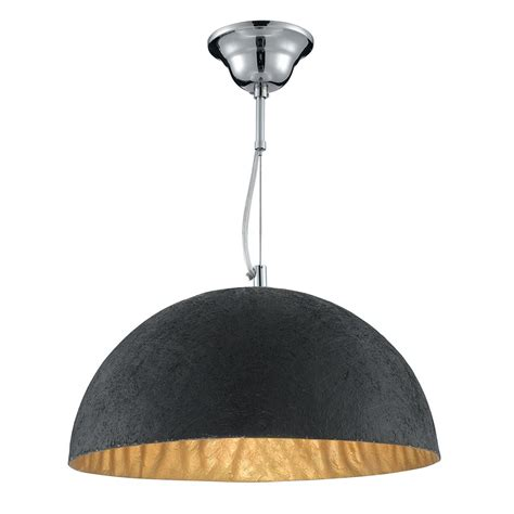 searchlight 8149go dome 1 light gold ceiling pendant
