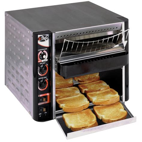 conveyor toaster apw wyott xtrm 2h 10 quot wide conveyor toaster with 3 quot opening