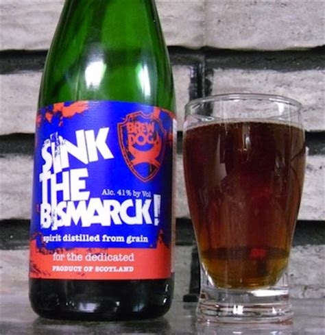 new strong beer called sink the bismarck st albert s