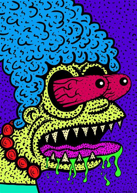 dave bells psychedelic gifs   trip direkt concept