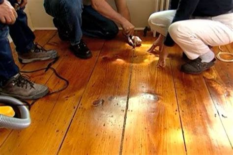 How to Fill Gaps In a Wide Plank Wood Floor   Stains, Toms