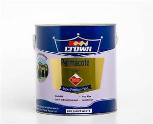 Crown Permacote Exterior Emulsion with Teflon® - Crown