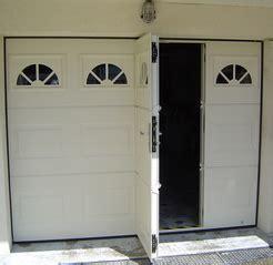 porte de garage sectionnelle avec portillon monsieur store