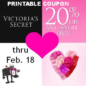 expired victorias secret printable coupon