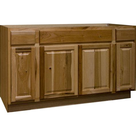 kitchen sink base cabinets hton bay hton assembled 60x34 5x24 in sink base 5641